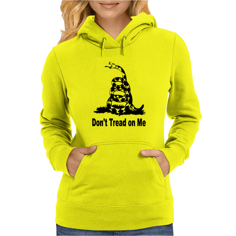 SNAKE LARGE DON'T TREAD ON ME Womens Hoodie