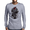 Snake & Skull Mens Long Sleeve T-Shirt
