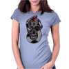 Snake & Skull Womens Fitted T-Shirt