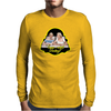 Snapchat - never too late Mens Long Sleeve T-Shirt
