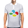 SNES Super Famicom COLOURS Mens Polo