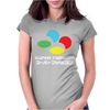 SNES Super Famicom COLOURS Womens Fitted T-Shirt