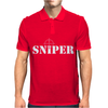Sniper Army Military Combat Mens Polo
