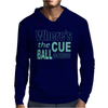 Snooker Where's The Cue Ball Going Mens Hoodie