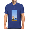 Snoopy And Charlie Brown Mens Polo