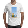 Snoopy And Charlie Brown Mens T-Shirt