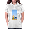 Snoopy And Charlie Brown Womens Polo