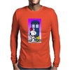 Snoopy doctorwho Mens Long Sleeve T-Shirt