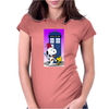 Snoopy doctorwho Womens Fitted T-Shirt