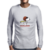 snoopy funny tears Mens Long Sleeve T-Shirt