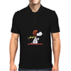 snoopy funny tears Mens Polo