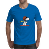 snoopy funny tears Mens T-Shirt