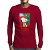 Snoopy slow time Mens Long Sleeve T-Shirt