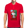 Snoopy slow time Mens Polo