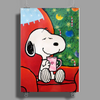 Snoopy slow time Poster Print (Portrait)