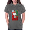 Snoopy slow time Womens Polo