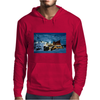 snow mountain Mens Hoodie