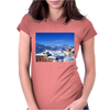 snow Womens Fitted T-Shirt