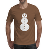 Snowman Hip Hop Rap Gangster Mens T-Shirt
