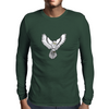 Snowy Owl Mens Long Sleeve T-Shirt