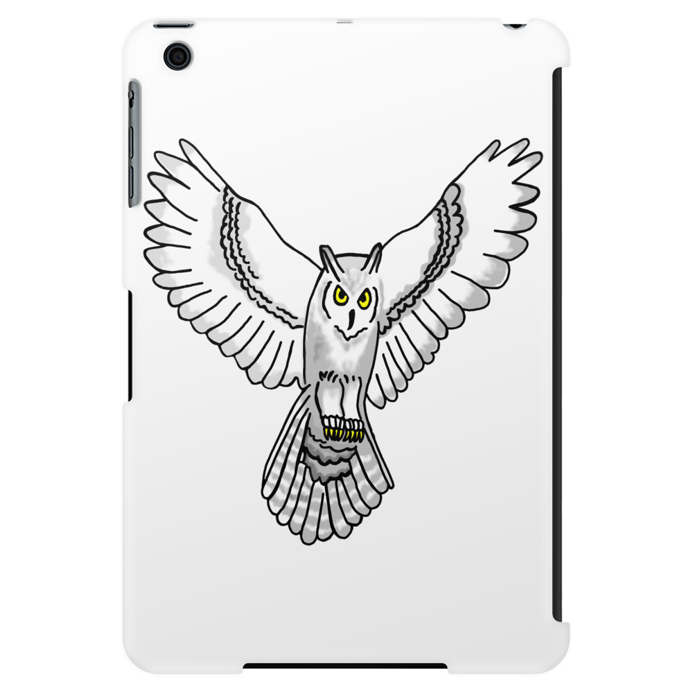 Snowy Owl Tablet (vertical)