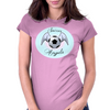Soccer Angels Womens Fitted T-Shirt