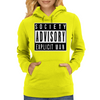 Society Advisory Explicit Man Womens Hoodie