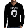 SOCRATES BRAZIL 70s FOOTBALL WORLD CUP LEGEND RETRO Mens Hoodie