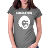 SOCRATES BRAZIL 70s FOOTBALL WORLD CUP LEGEND RETRO Womens Fitted T-Shirt