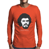 Socrates Brazilian Midfielder Football Legend Mens Long Sleeve T-Shirt
