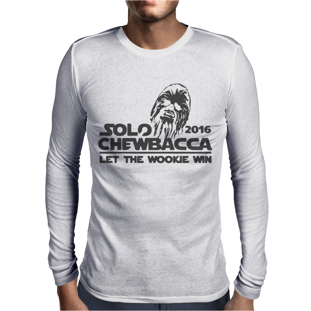 Solo Chewbacca 2016 Mens Long Sleeve T-Shirt
