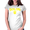 Solon Ohio High School Basketball 2016 Womens Fitted T-Shirt