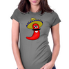 Sombrero Chilli Womens Fitted T-Shirt