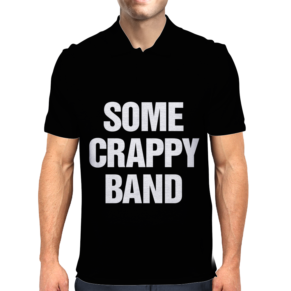 Some Crappy Band Mens Polo