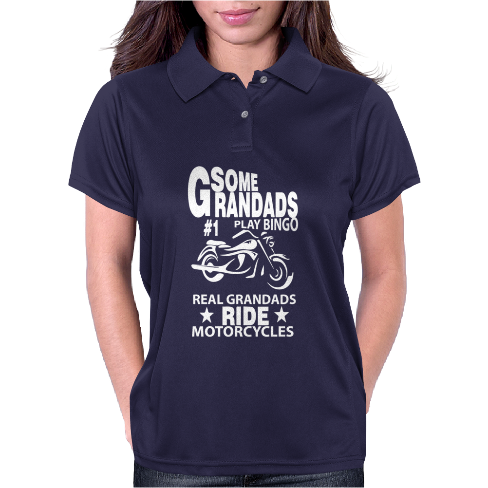 Some Grandads Or Dads Play Bingo Womens Polo