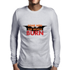 Some Men Just Want to Watch the World Burn Mens Long Sleeve T-Shirt