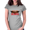 Some Men Just Want to Watch the World Burn Womens Fitted T-Shirt