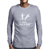 Some People Just Need A Push Mens Long Sleeve T-Shirt