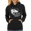 some times keep mouth shut Womens Hoodie