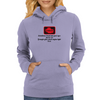 Sometimes I look into your eyes just to see if maybe your check enging light is on  Womens Hoodie