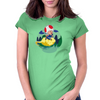 Son Toad Womens Fitted T-Shirt