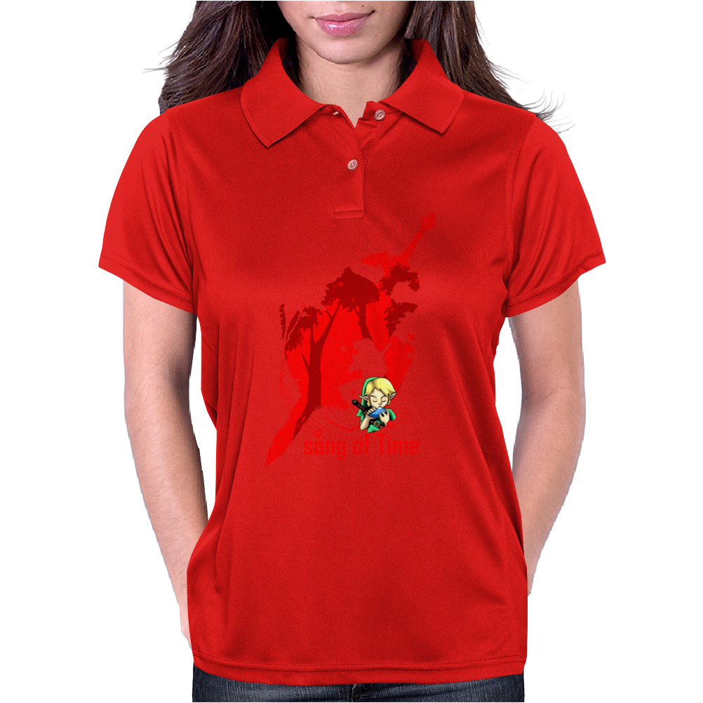 Song of Time Womens Polo