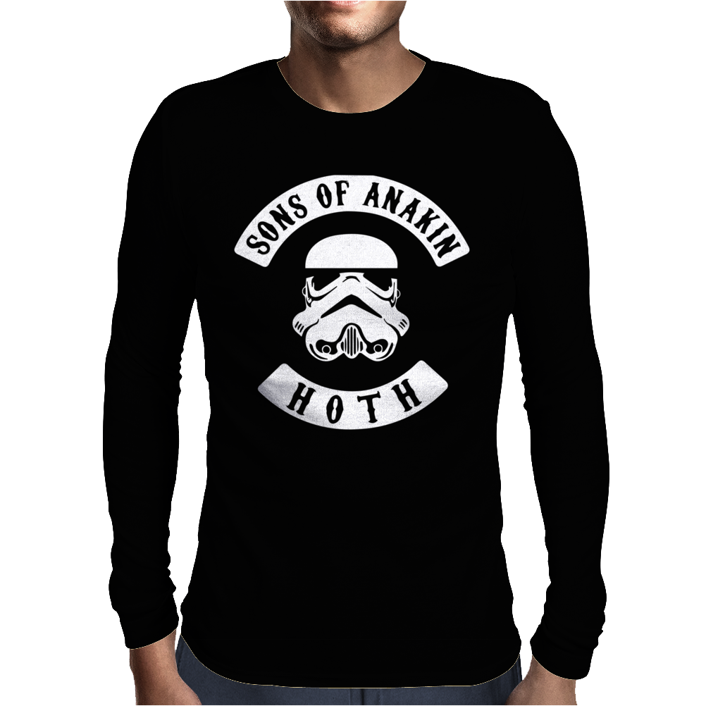 Sons Of Anakin Anarchy Mc Gang Style Mens Long Sleeve T-Shirt