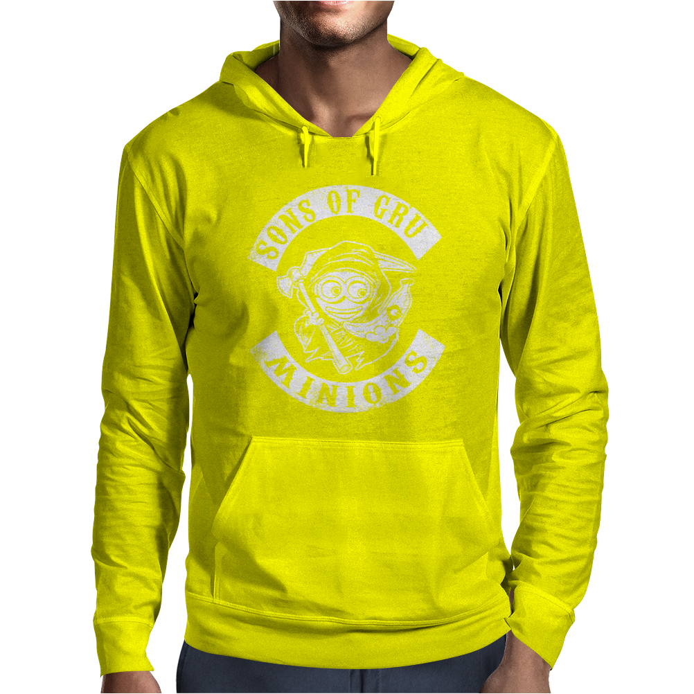 Sons of Gru Minion Mens Hoodie
