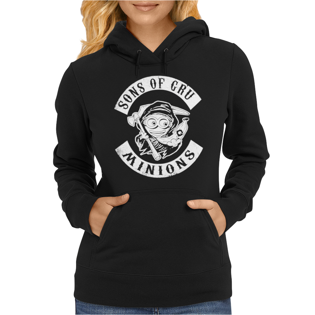 Sons of Gru Minion Womens Hoodie