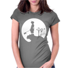 Sora Moon kingdom Hearts Womens Fitted T-Shirt