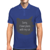Sorry, I have plans with my cat Mens Polo