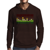 Sound Activated Flashing Light Mens Hoodie