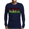 Sound Activated Flashing Light Mens Long Sleeve T-Shirt