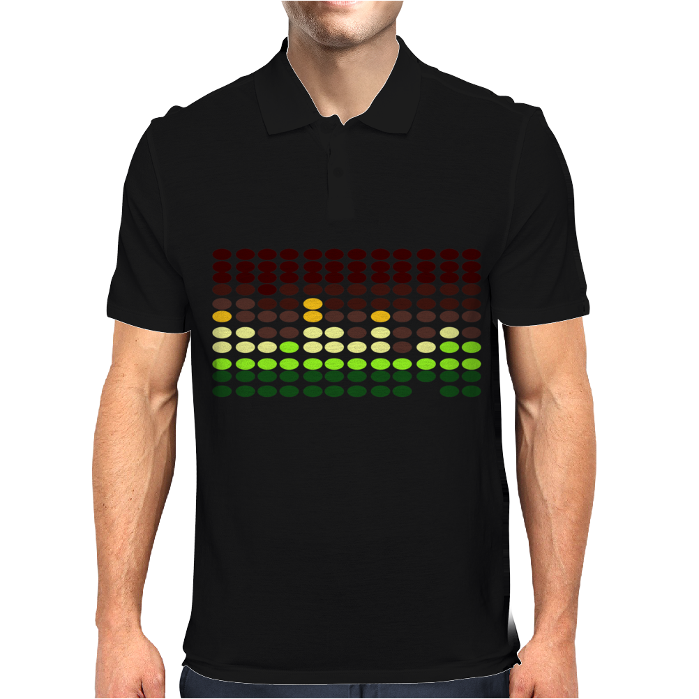 Sound Activated Flashing Light Mens Polo